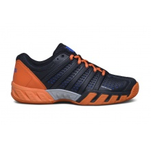 KSwiss BigShot Light 2.5 2016 schwarz/orange Tennisschuhe Herren