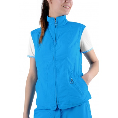 Limited Sports Weste Classic Basic blau Damen