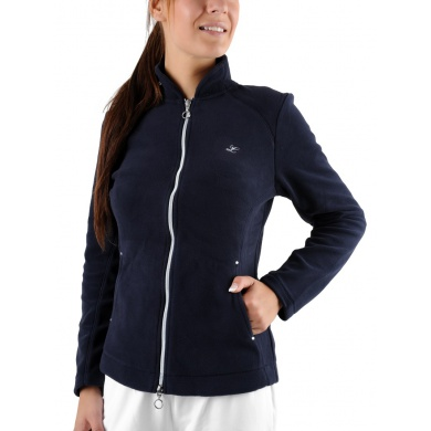 Limited Sports Jacket Fleece Flora dunkelblau Damen