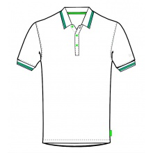 Limited Sports Polo Classic weiss Herren