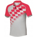 Lotto Polo Connor 2015 grau/rot Herren