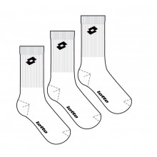 Lotto Tennissocken Quarter Herren weiss 3er