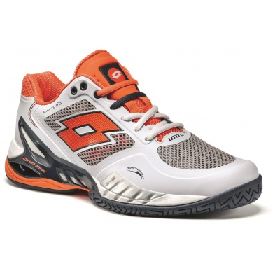 Lotto Raptor EVO Speed 2015 weiss/orange Tennisschuhe Herren
