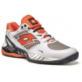 Lotto Raptor EVO Clay 2015 weiss/orange Tennisschuhe Herren