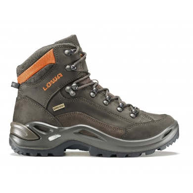 Lowa Renegade GTX MID schiefer/orange Outdoorschuhe Damen