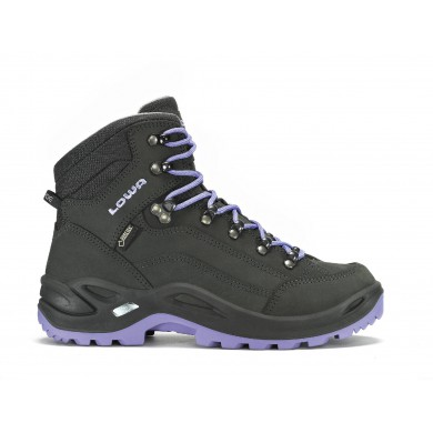 Lowa Renegade GTX MID anthrazit/lila Outdoorschuhe Damen