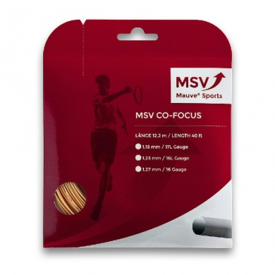 MSV Co Focus gold Tennissaite
