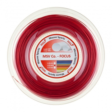 MSV Co Focus rot 200 Meter Rolle