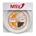 MSV Focus Hex Plus 25 wei� Tennissaite