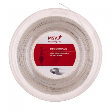 MSV Spin Plus 1.30 natur 200 Meter Rolle