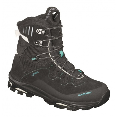 Mammut Runbold Advanced High GTX graphite/white Outdoorschuhe Damen (Größe 38,5)