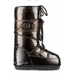 MoonBoot Crocodile braun Damen (39-41)