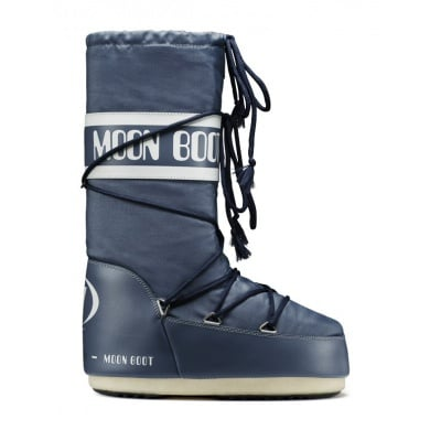 MoonBoot Nylon denim (39-41)