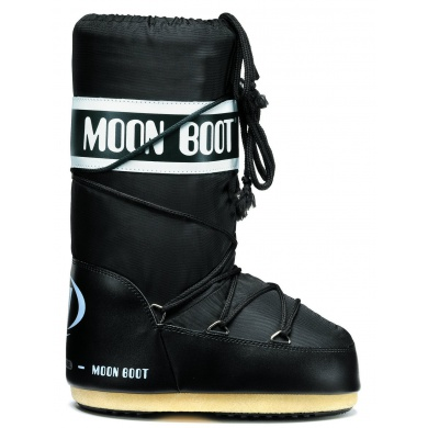 MoonBoot Nylon schwarz (19-22)