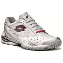 Lotto Raptor Ultra 3 Clay weiss/silver Tennisschuhe Damen