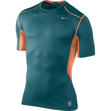 Nike Shirt Pro Combat Hypercool Fitted 2.0 petrol Herren