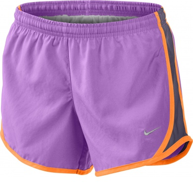 Nike Short Tempo violett Girls