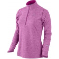 Nike Longsleeve Element Half-Zip pink 514 Damen