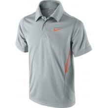 Nike Polo NET UV lightgrey Boys