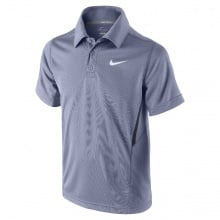 Nike Polo NET UV iron purple Boys (Gr��e 164)