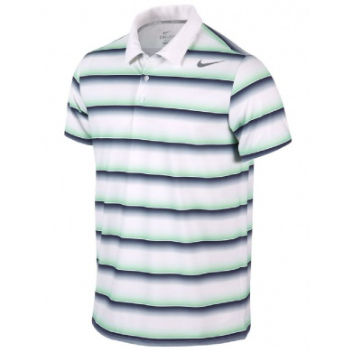 Nike Polo Rally Sphere Stripe NEW weiss Herren