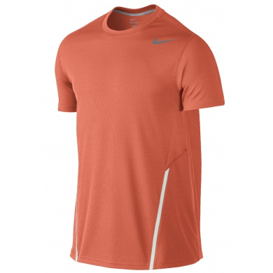 Nike Tshirt Power UV orange Herren (Größe M)