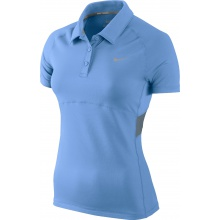 Nike Polo Advantage Sphere blau Damen (Größe L)