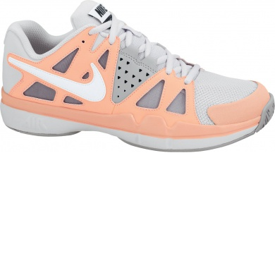 Nike Air Vapor Advantage grau/orange Tennisschuhe Damen (Größe 40,5+42,5)