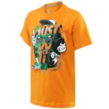 Nike Tshirt JDI Bricks orange Kinder