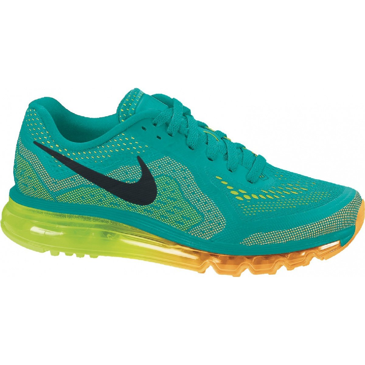 Nike Air Max 2014 Laufschuhe Damen Pink/Orange