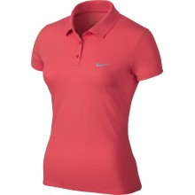 Nike Polo Advantage Court emberglow Damen