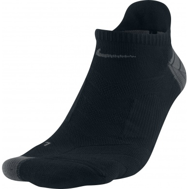 Nike Laufsocke Elite Cushion No Show schwarz (Gr��e 46-50)