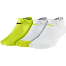 Nike Tennissocken No Show sortiert g/w/w 3er Girls