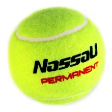 Nassau Permanent Trainingsball gelb