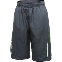 Nike Short NET magnetgrau/lime Boys