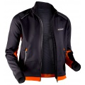 X-Bionic Cross Country Winter Jacke schwarz/orange Herren