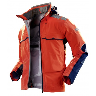 X-Bionic Outdoor Jacke 3L orange Herren