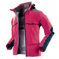 X-Bionic Outdoor Jacke 3L rose Damen