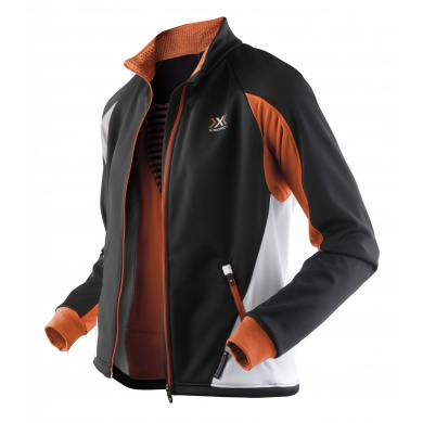 X-Bionic Outdoor Transmission Jacke Adv schwarz/orange Herren