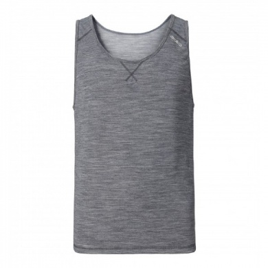 Odlo Singlet Revolution Light 2016 grau Herren