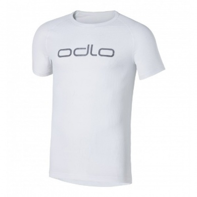 Odlo Tshirt Cubic Light s/s crew neck 2016 weiss Herren