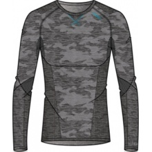 Odlo Longsleeve Blackcomb Evolution Warm grau/blau Herren
