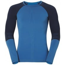 Odlo Longsleeve Evolution Warm Crew Neck blau Herren
