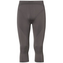 Odlo Pant 3/4 Evolution Warm grau Herren