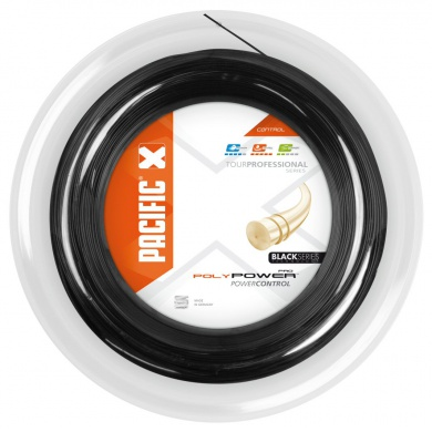Pacific Poly Power Pro schwarz 200 Meter Rolle