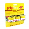 Polyfibre Feel It Overgrip 3er gelb