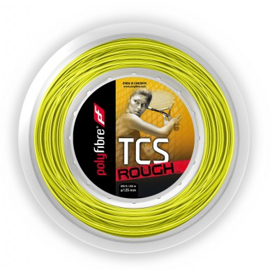 Polyfibre TCS Rough gelb 200 Meter Rolle