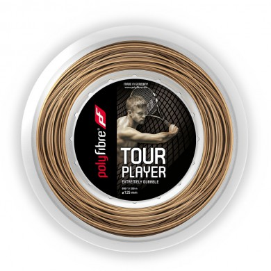 Polyfibre Tour Player 1.25 natur 200 Meter Rolle