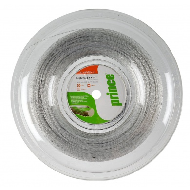 Prince Lightning XX Spin clear/silber 200 Meter Rolle