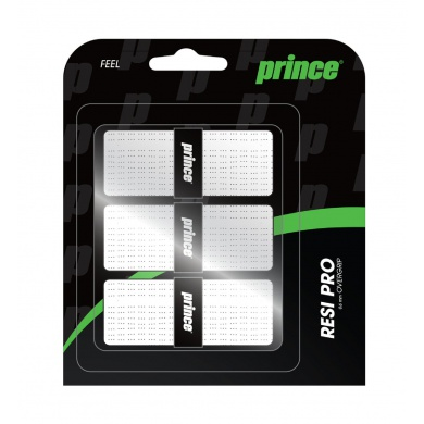 Prince Resi Pro Overgrip 3er weiss